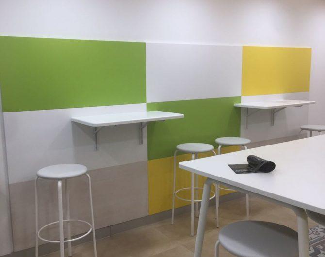 Зона офисной кухни